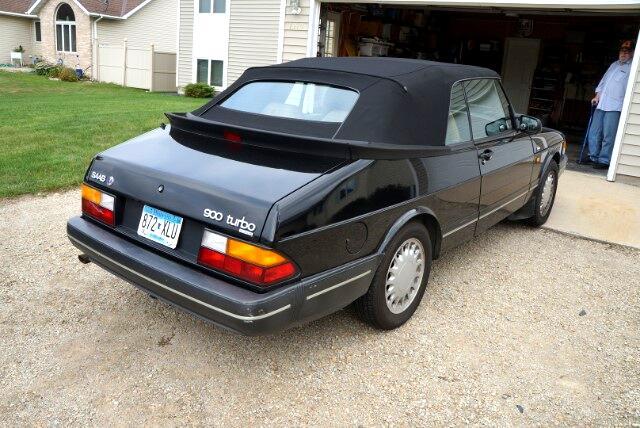 1991 Saab 900 Turbo convertible