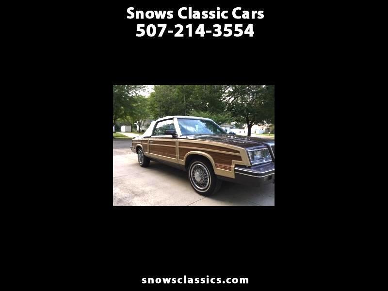 1983 Chrysler Le Baron Convertible