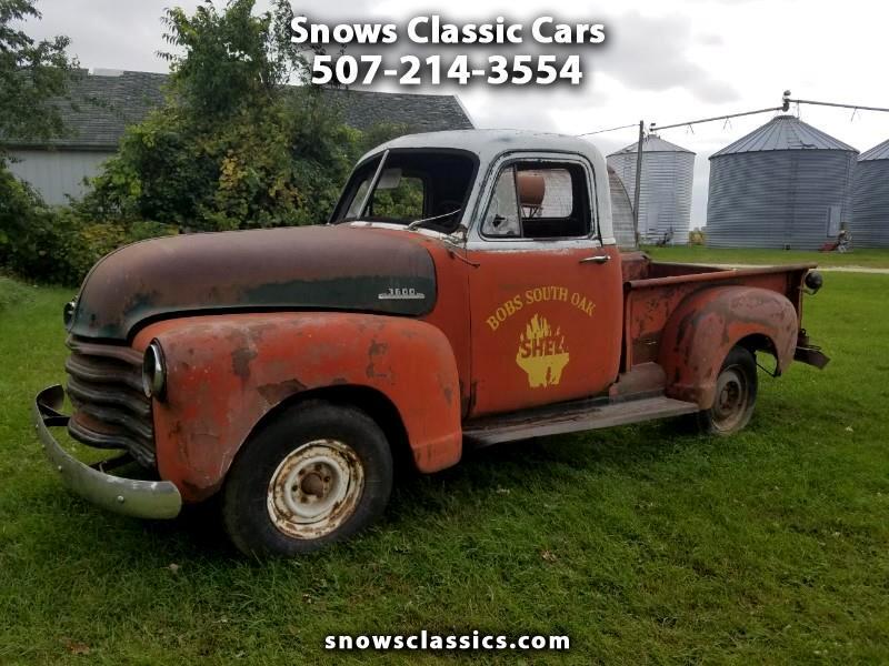 1952 Chevrolet Trucks Pickup