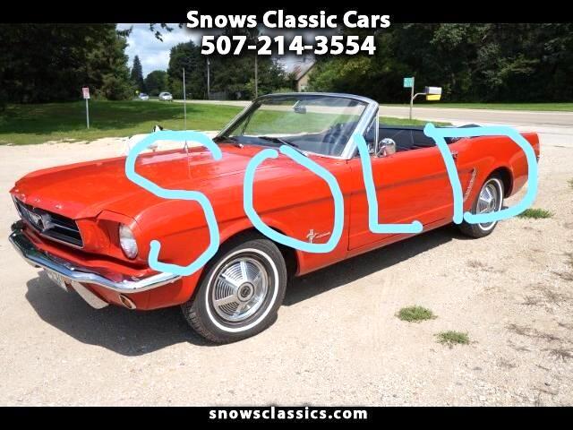 1965 Ford Mustang 2dr Conv V6