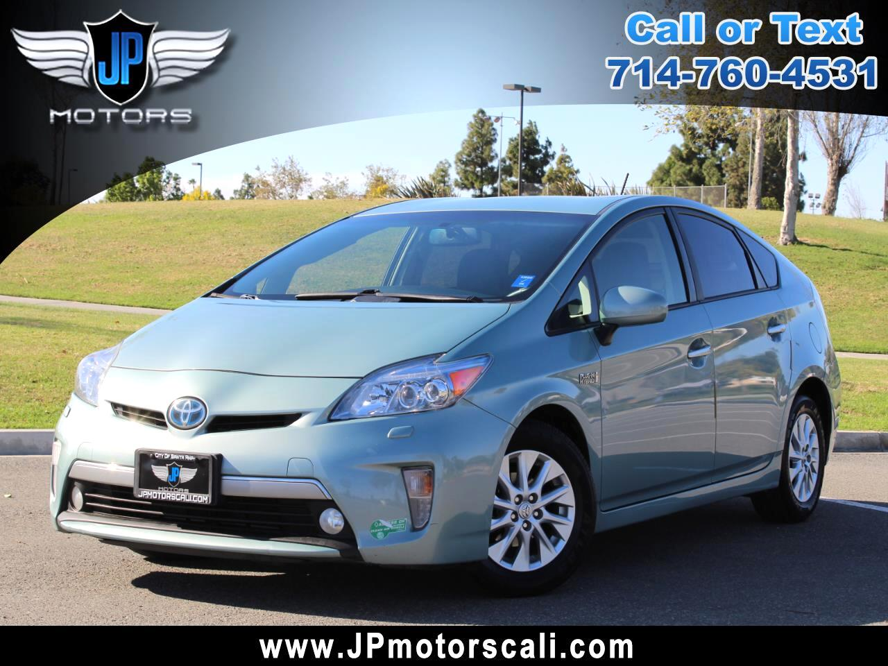 2012 Toyota Prius Plug-In 5dr HB Advanced (Natl)