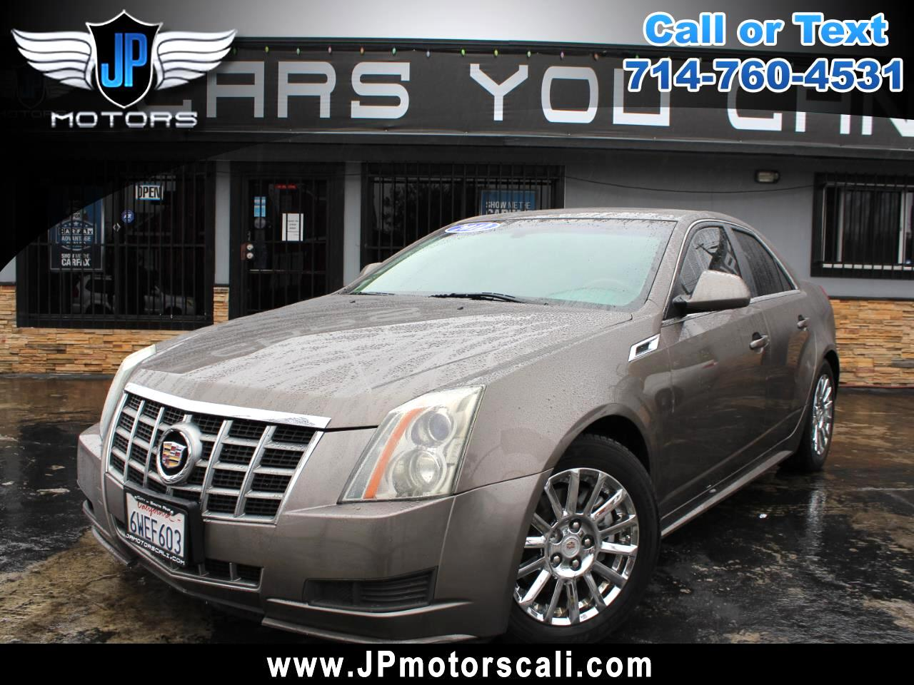 Cadillac CTS Sedan 4dr Sdn 3.0L Luxury RWD 2012