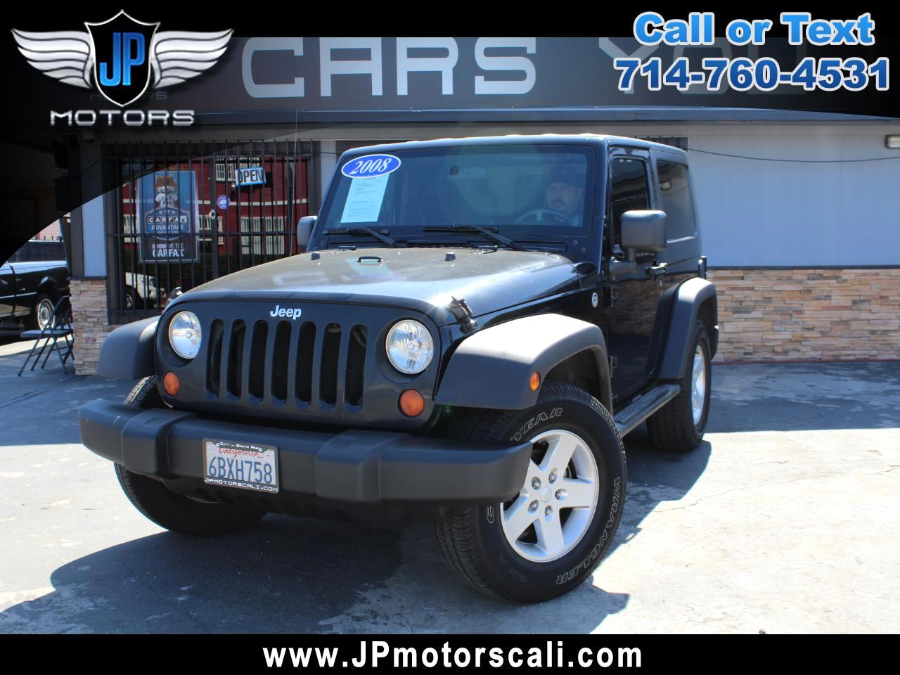 Jeep Wrangler 4WD 2dr X 2008