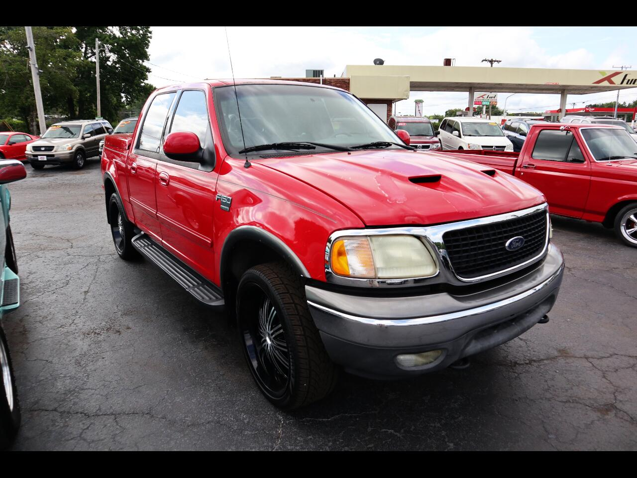 """Ford F-150 SuperCrew 139"""" King Ranch 4WD 2003"""