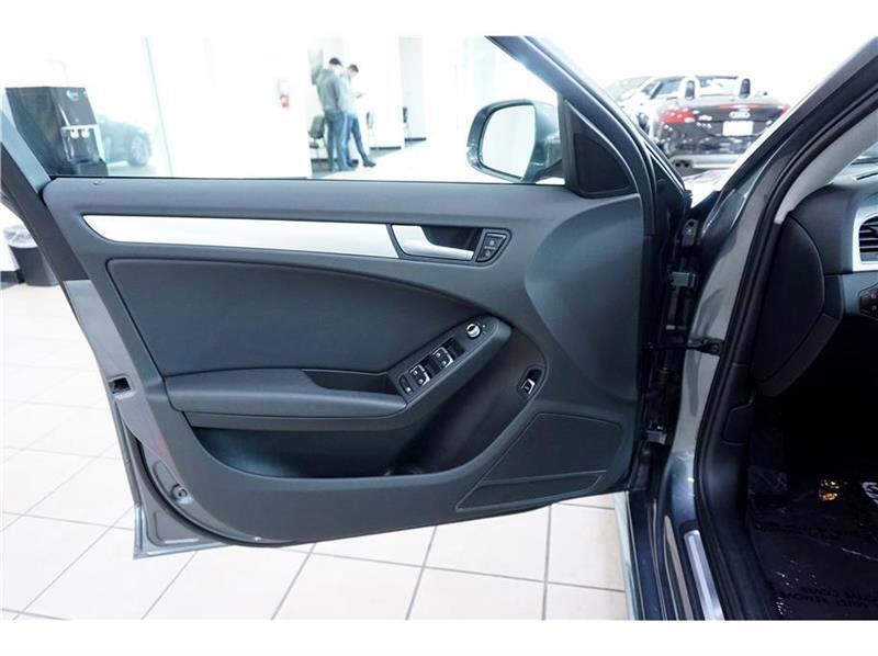 2015 Audi A4 2.0 T Sedan FrontTrak Multitronic