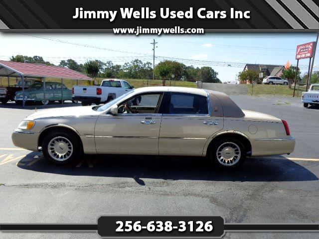 2000 Lincoln Town Car Cartier