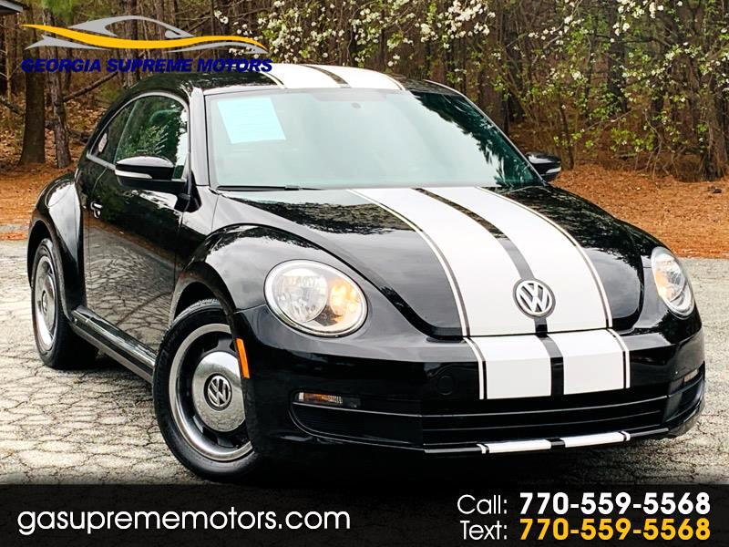 Volkswagen Beetle 2.5L w/Sunroof Sound & Nav 2012
