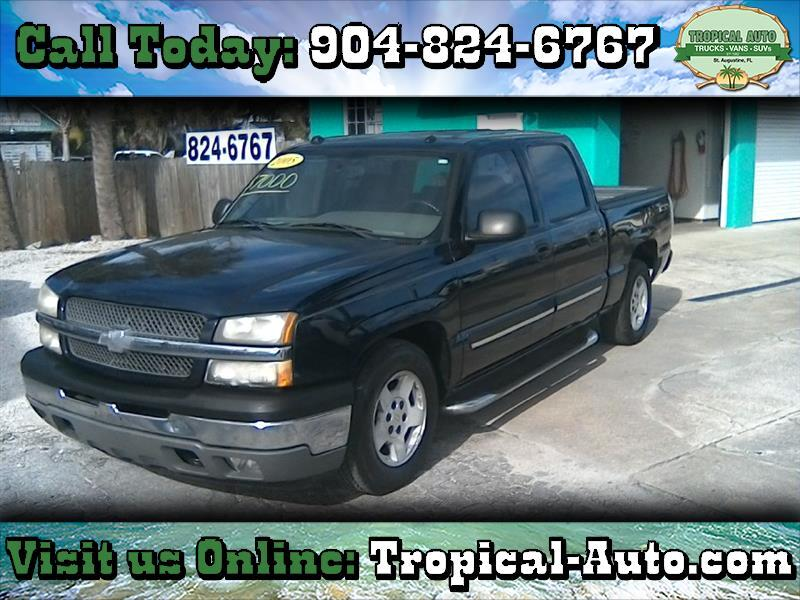 "2005 Chevrolet Silverado 1500 Crew Cab 143.5"" WB LT"