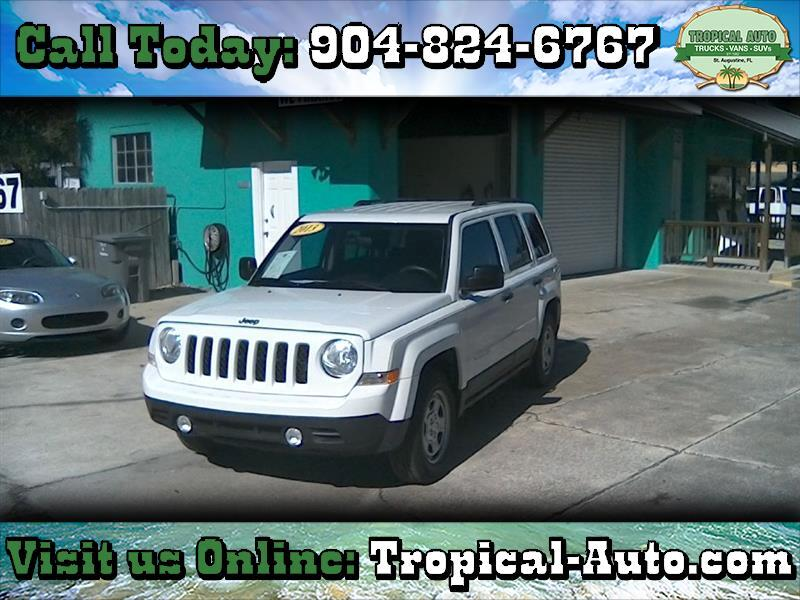 2013 Jeep Patriot FWD 4dr Sport