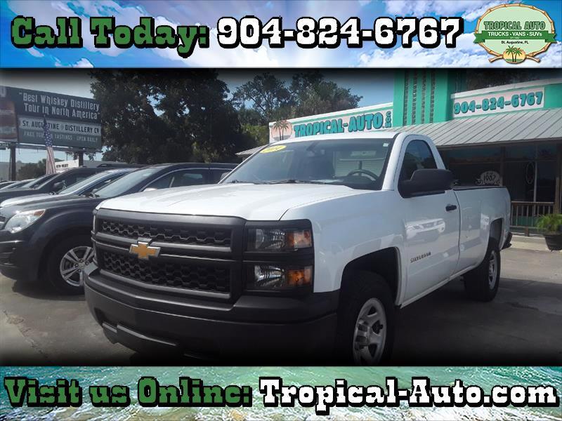 """2014 Chevrolet Silverado 1500 2WD Reg Cab 133.0"""" Work Truck w/1WT"""