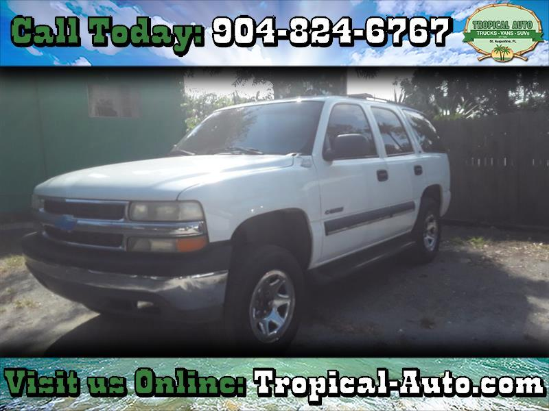 2002 Chevrolet Tahoe 4dr 1500 LS