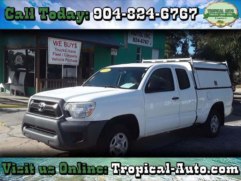 Toyota Tacoma 2WD Access Cab I4 MT (Natl) 2014