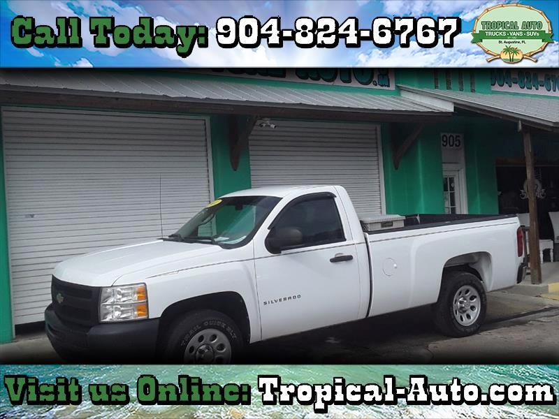 """Chevrolet Silverado 1500 2WD Reg Cab 133.0"""" Work Truck 2011"""