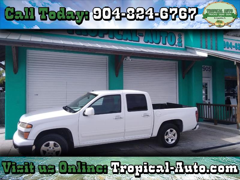 "Chevrolet Colorado 2WD Crew Cab 126.0"" LT w/1LT 2010"