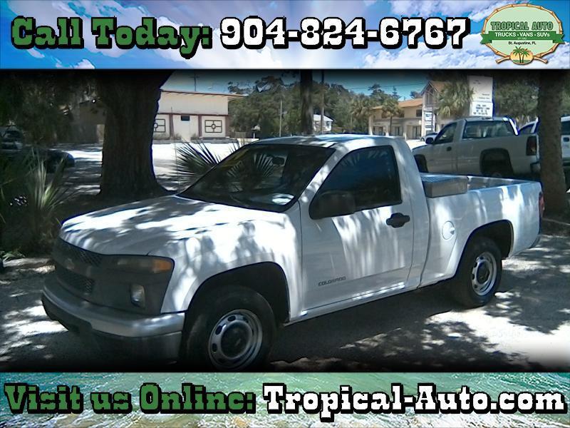 """Chevrolet Colorado Reg Cab 111.2"""" WB Fleet Z85 2004"""