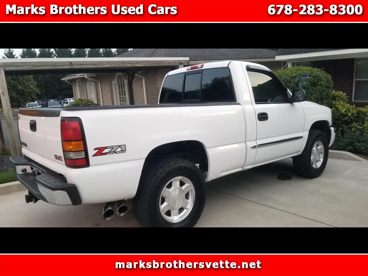 GMC Sierra 1500 SLE Short Bed 4WD 2005