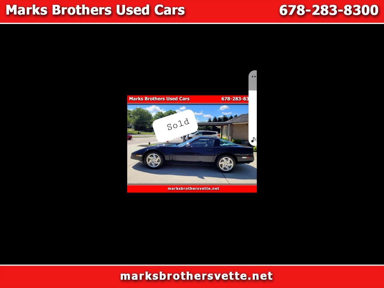 Chevrolet Corvette Coupe 1990