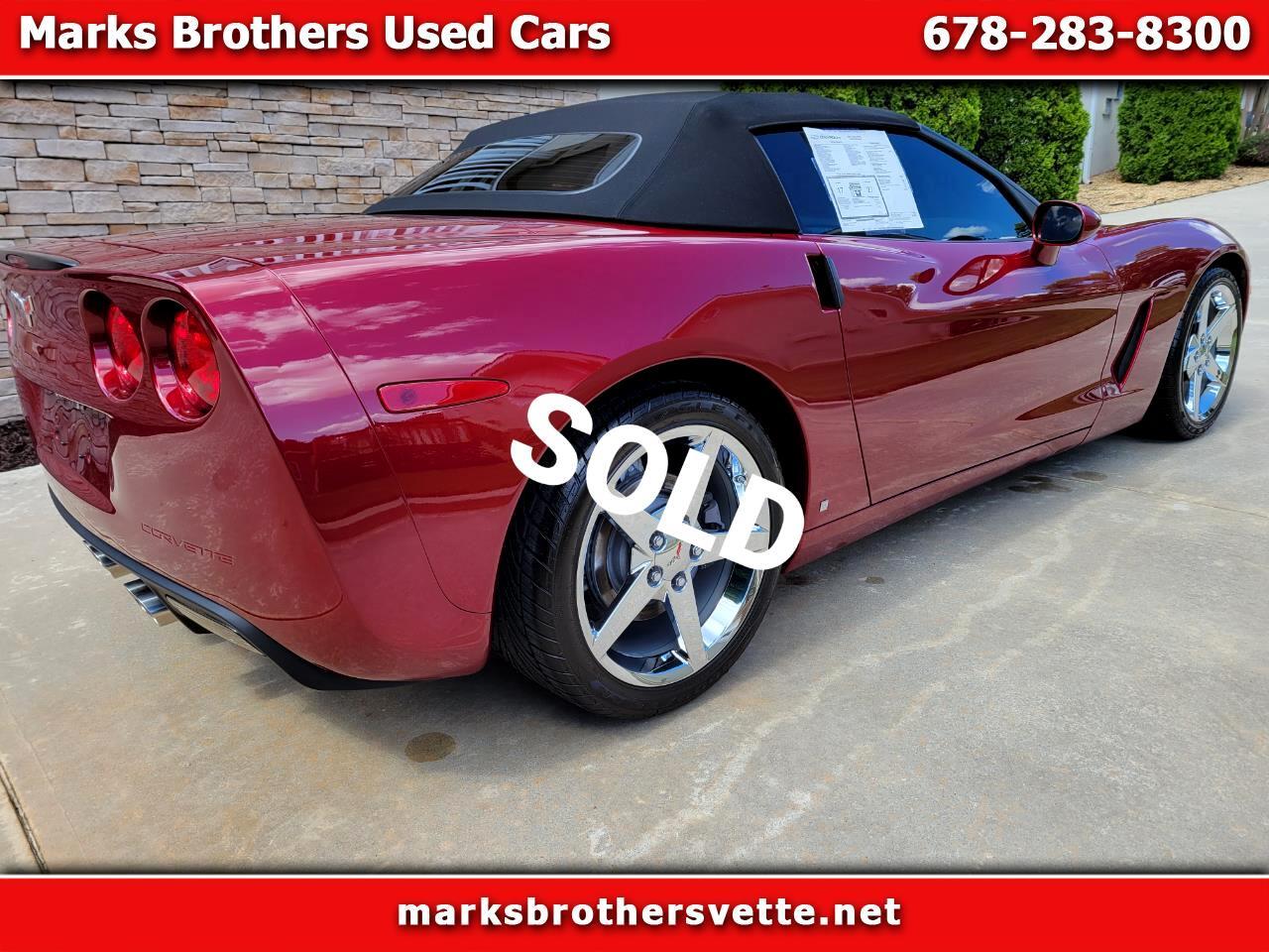 Chevrolet Corvette Convertible LT3 2007
