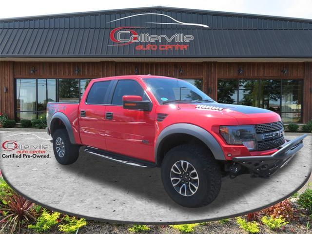 2013 Ford F-150 SVT Raptor SuperCrew 5.5-ft. Bed 4WD