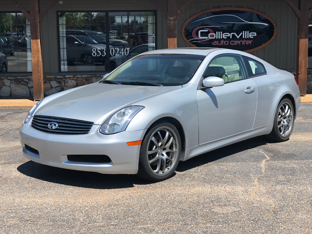 2006 Infiniti G35 Coupe 2dr Cpe Manual