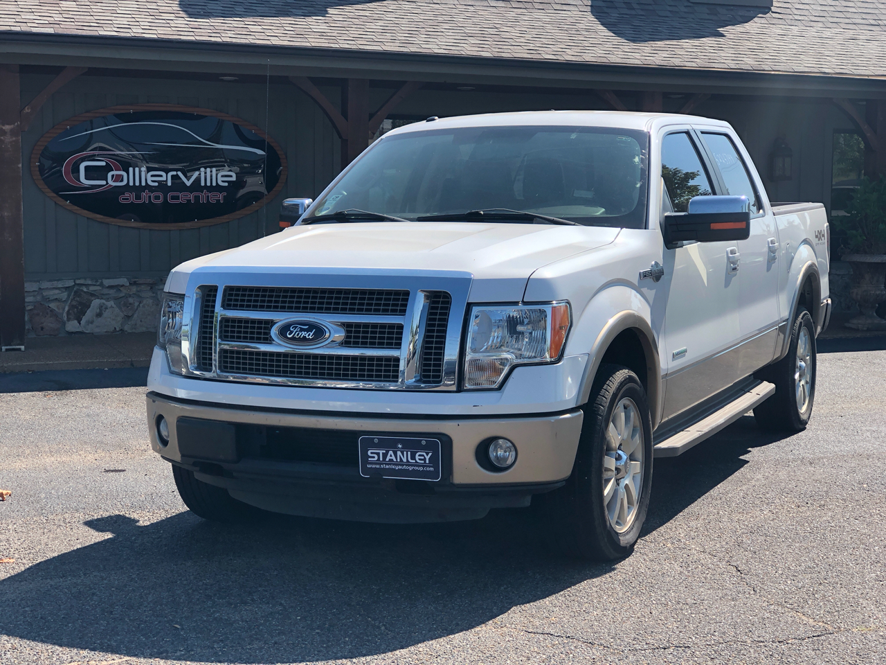 "2011 Ford F-150 4WD SuperCrew 150"" King Ranch"