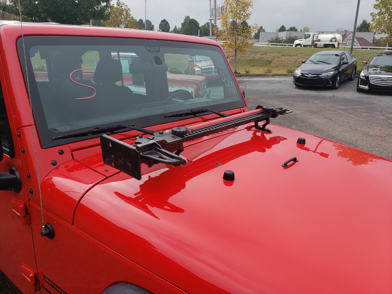 2016 Jeep Wrangler Unlimited 4WD 4dr Sport