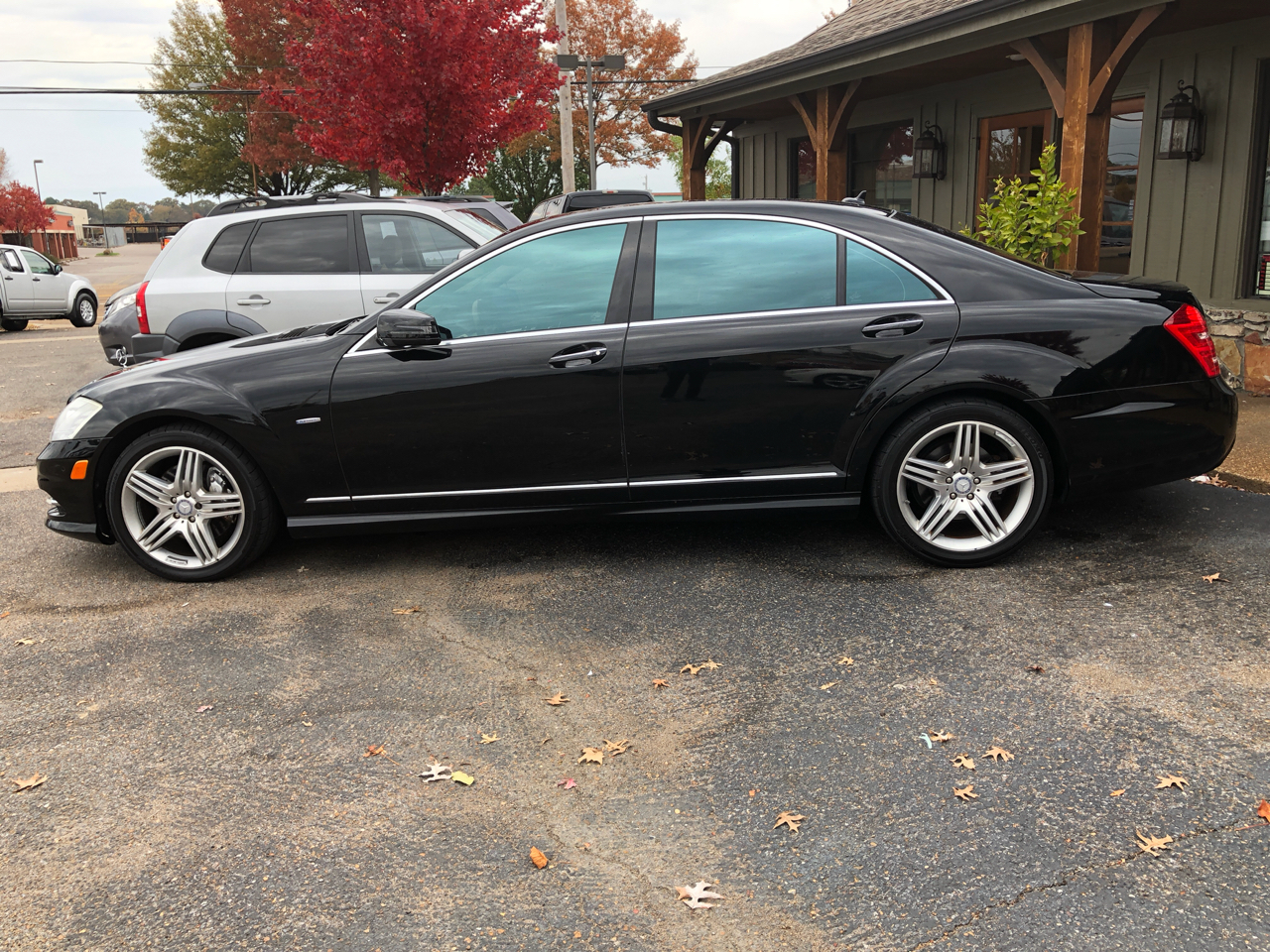 2012 Mercedes-Benz S-Class 4dr Sdn S 550 RWD
