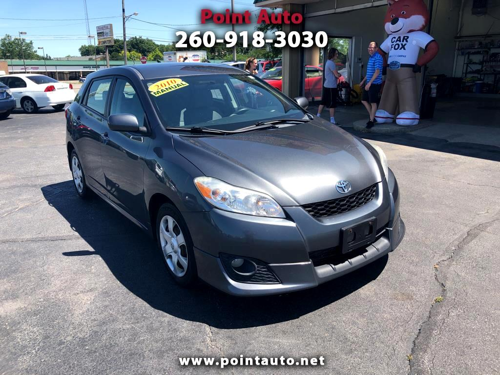 2010 Toyota Matrix Base 5-Speed MT