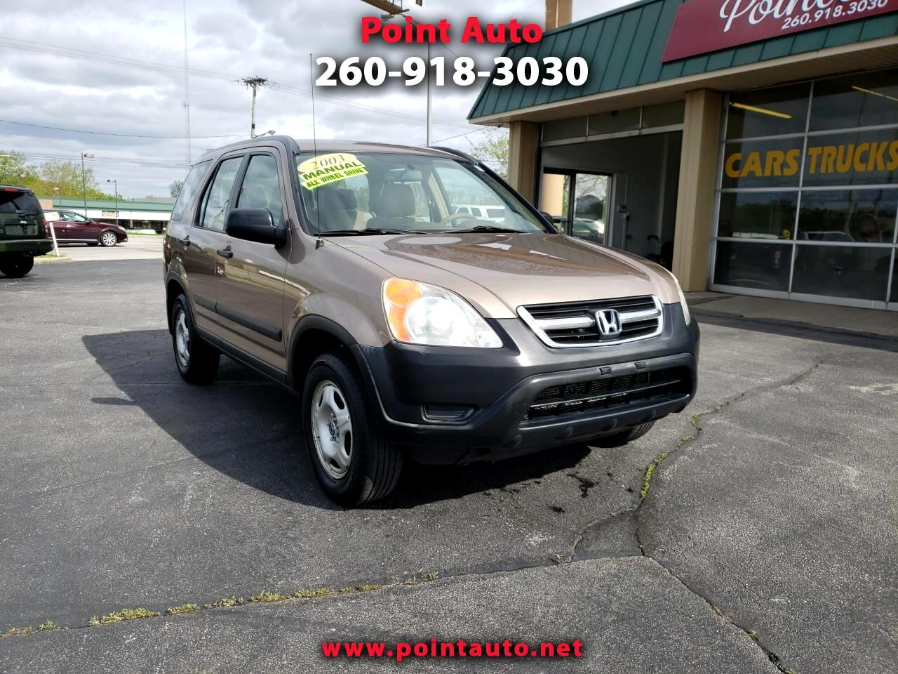 2003 Honda CR-V LX 4WD w/ Front Side Airbags