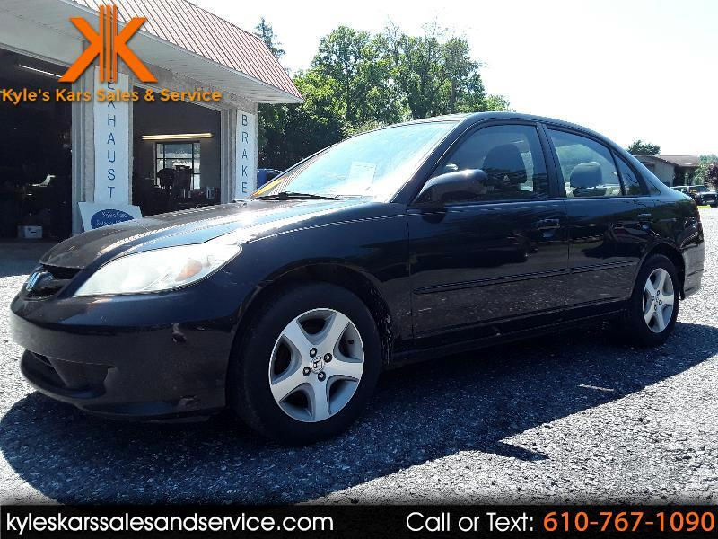 Honda Civic EX sedan AT 2004
