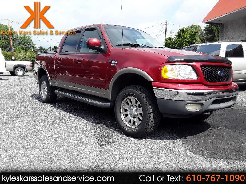 "Ford F-150 SuperCrew 139"" XLT 4WD 2002"