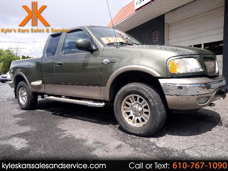 "Ford F-150 Suprcb Flreside 139"" King Ranch 4WD 2003"