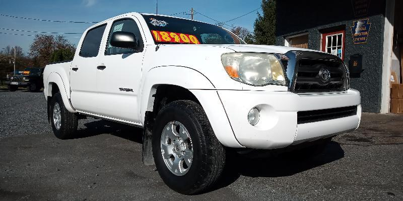 Toyota Tacoma SR5 Double Cab 4WD V6 2010