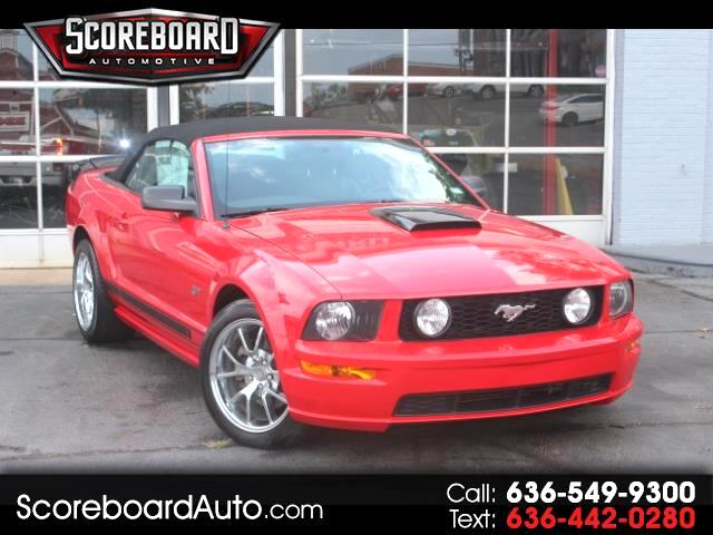 2007 Ford Mustang 2dr Convertible GT Premium