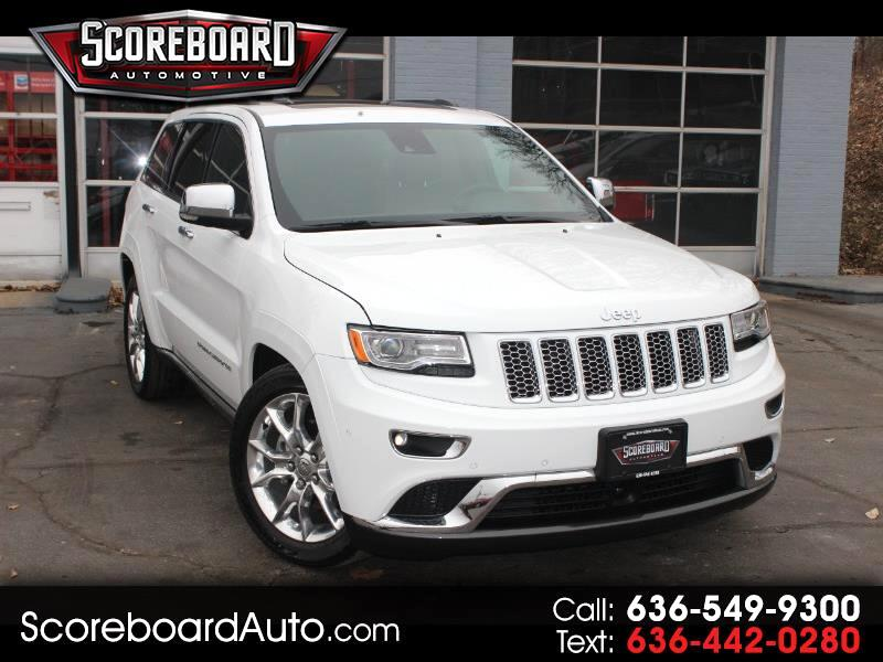 2014 Jeep Grand Cherokee 4WD 4dr Overland Summit