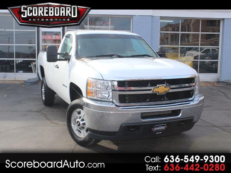 """2013 Chevrolet Silverado 2500HD 2WD Reg Cab 133.6"""" Work Truck"""