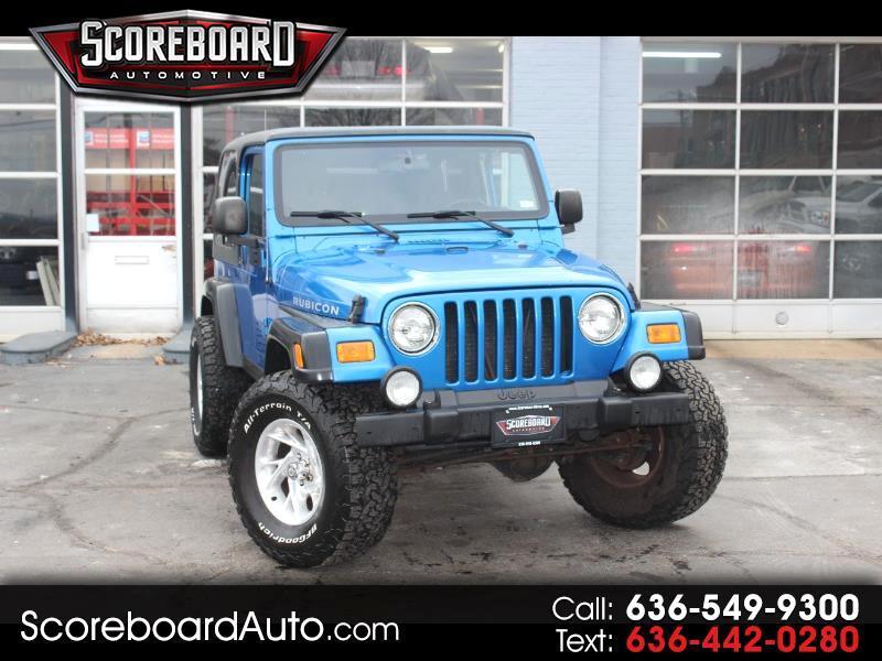 2003 Jeep Wrangler Rubicon