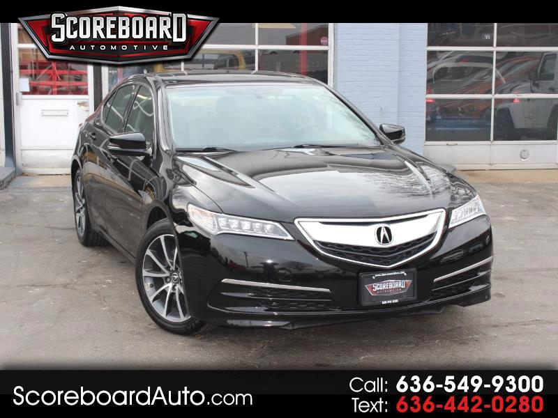 2017 Acura TLX 9-Spd AT