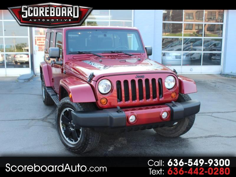 2012 Jeep Wrangler 4WD 4dr Unlimited Sahara