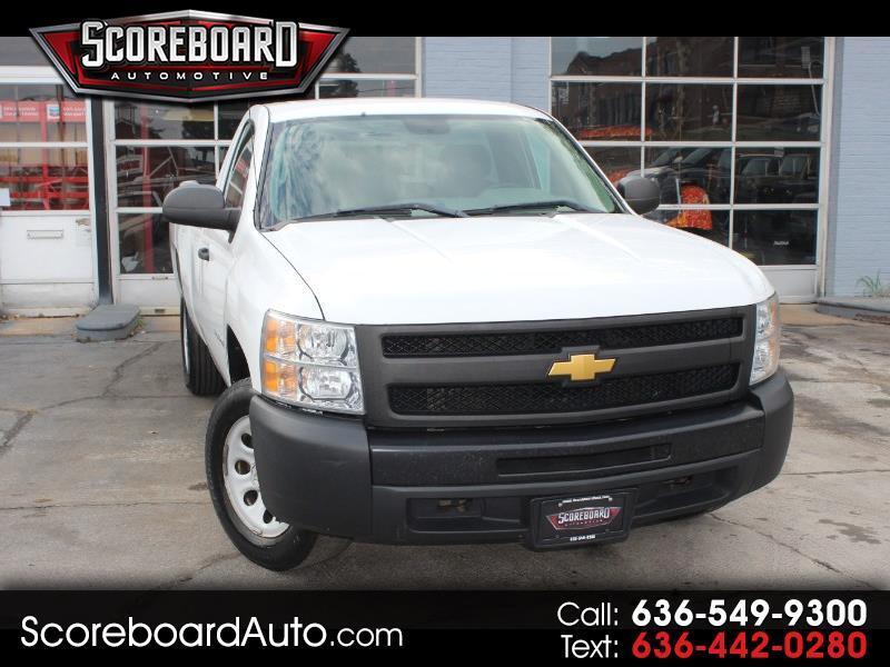 2012 Chevrolet Silverado 1500 Regular Cab Long Bed 2WD