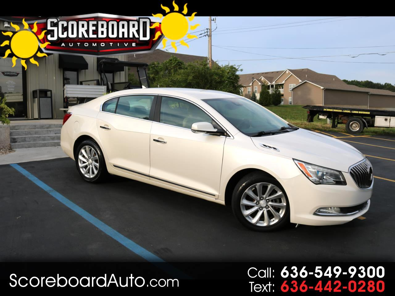 Buick LaCrosse 4dr Sdn Leather FWD 2014