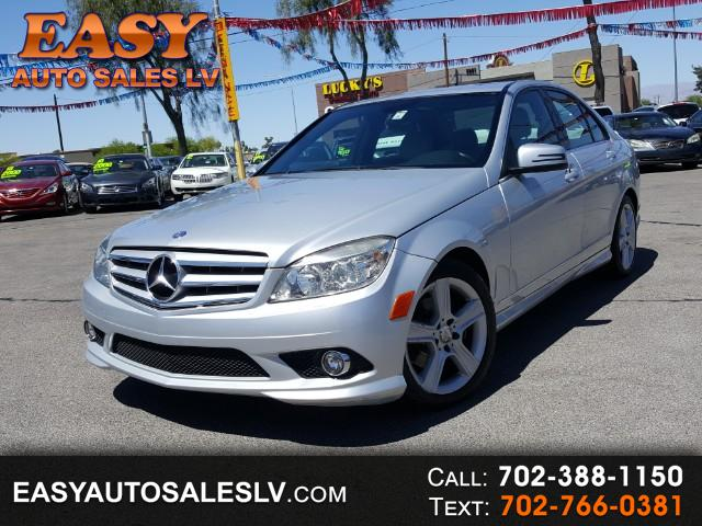 2010 Mercedes-Benz C-Class 4dr Sdn C 300 Luxury RWD