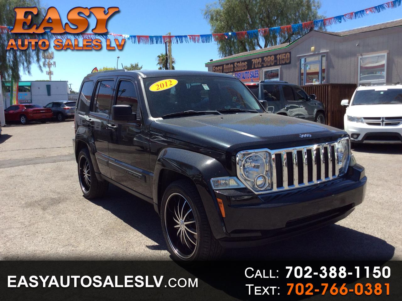 2012 Jeep Liberty RWD 4dr Sport