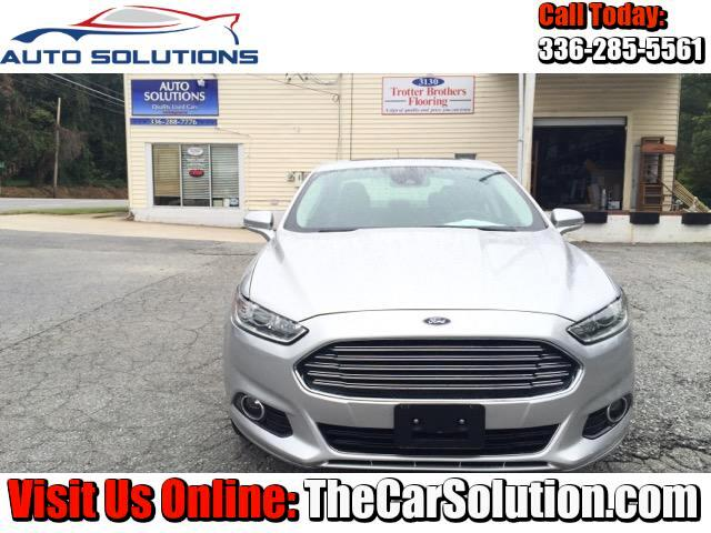 2013 Ford Fusion Titanium AWD