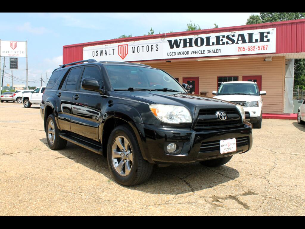 2008 Toyota 4Runner RWD 4dr V6 Limited (Natl)