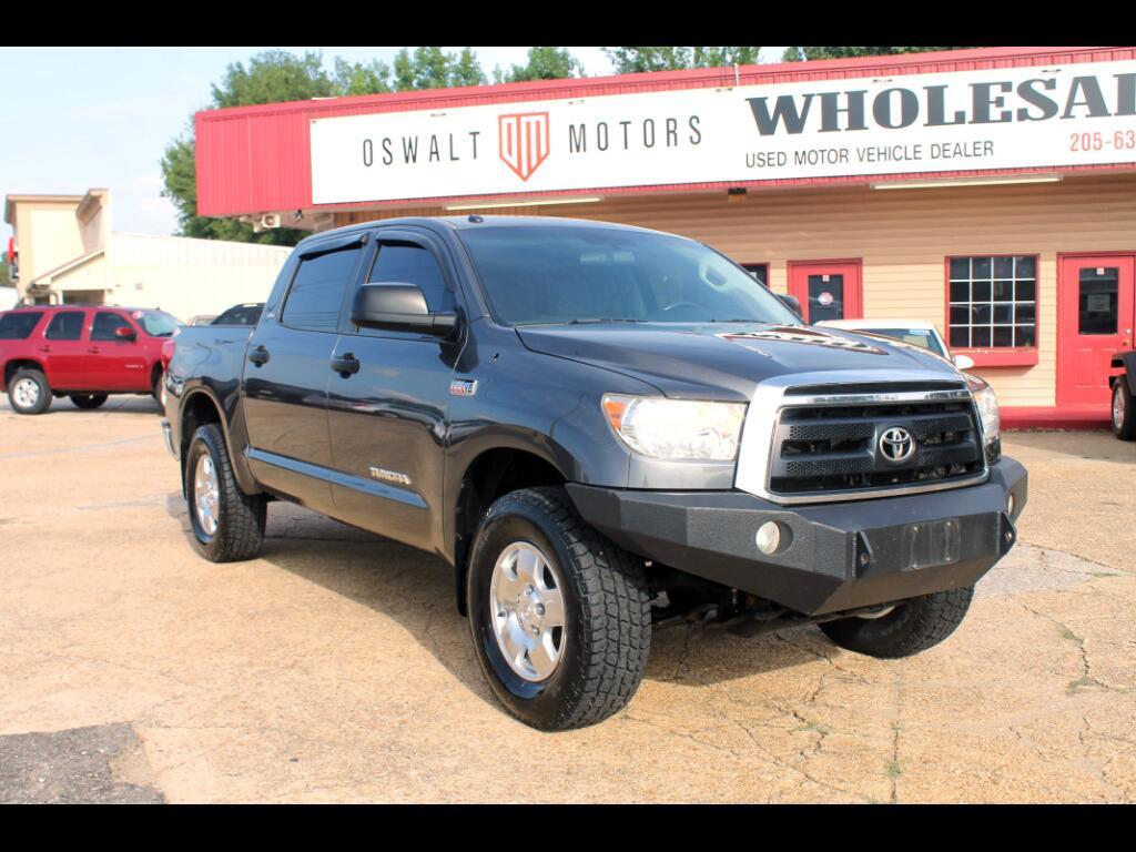 2011 Toyota Tundra 4WD Truck CrewMax 5.7L FFV V8 6-Spd AT (Natl)