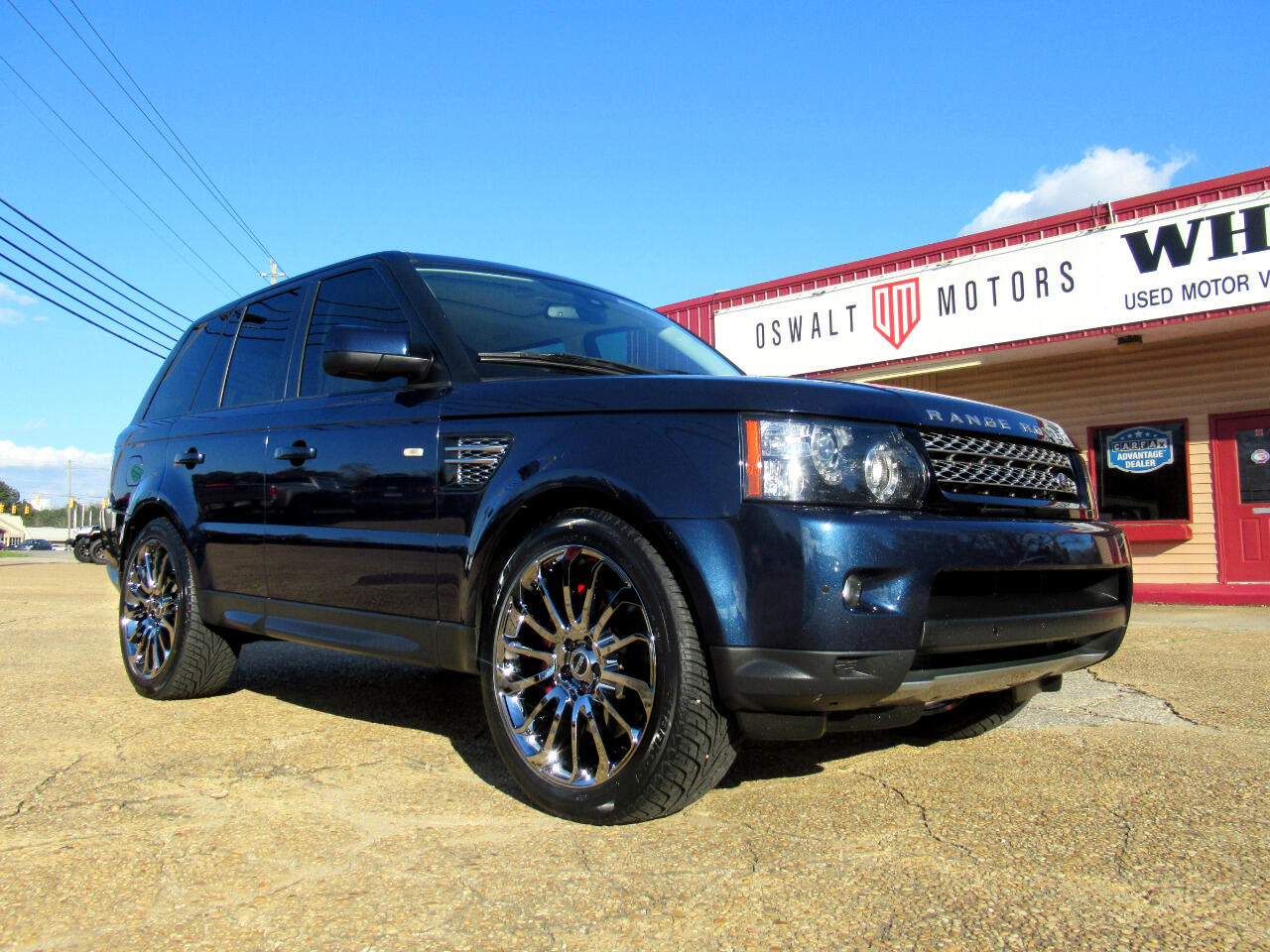 2013 Land Rover Range Rover Sport 4WD 4dr Supercharged