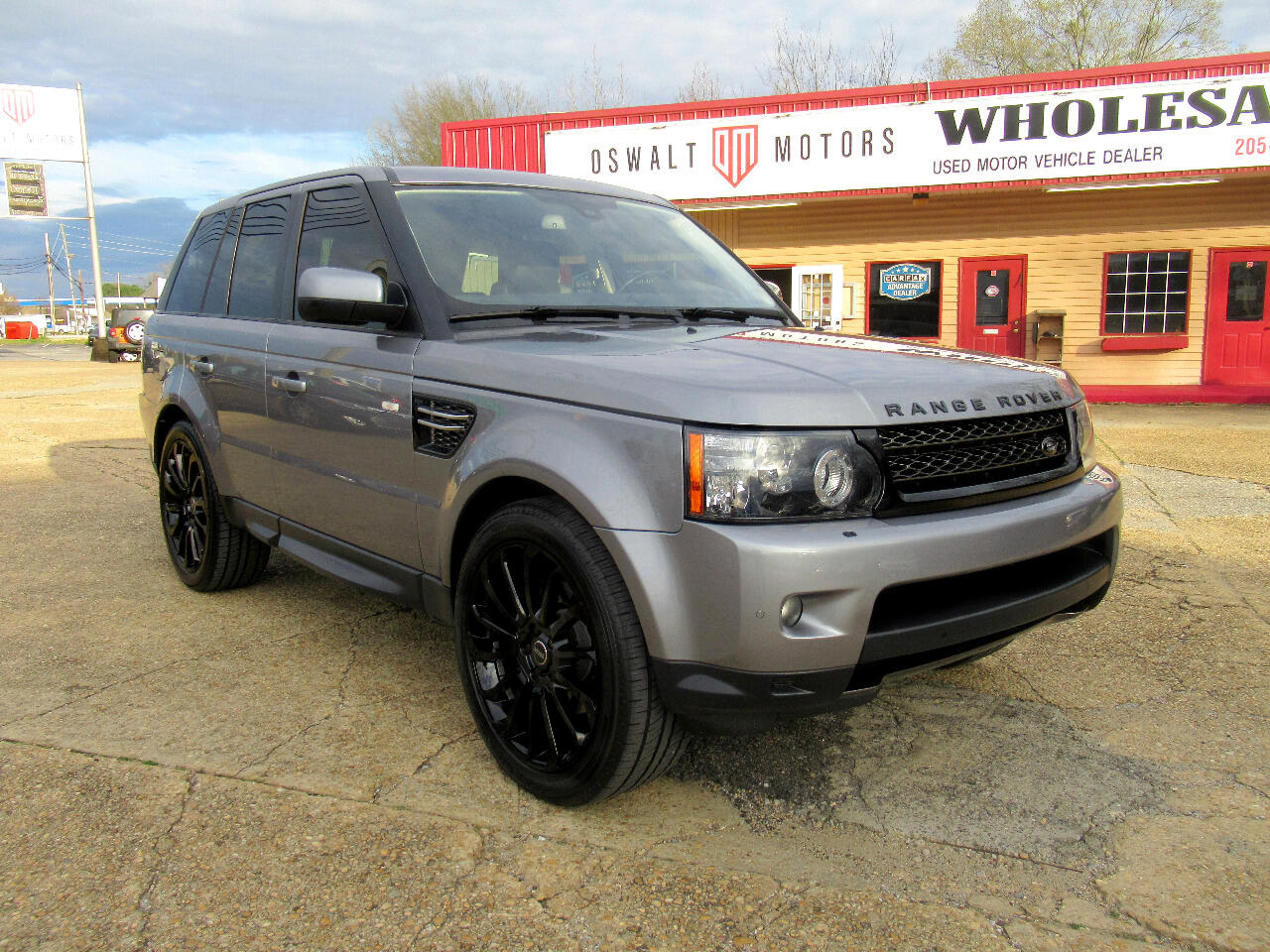 2012 Land Rover Range Rover Sport 4WD 4dr HSE