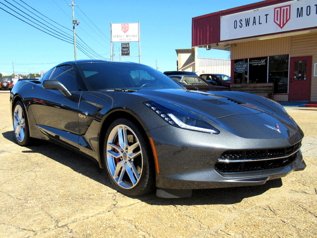 2017 Chevrolet Corvette 2dr Stingray Z51 Cpe w/1LT