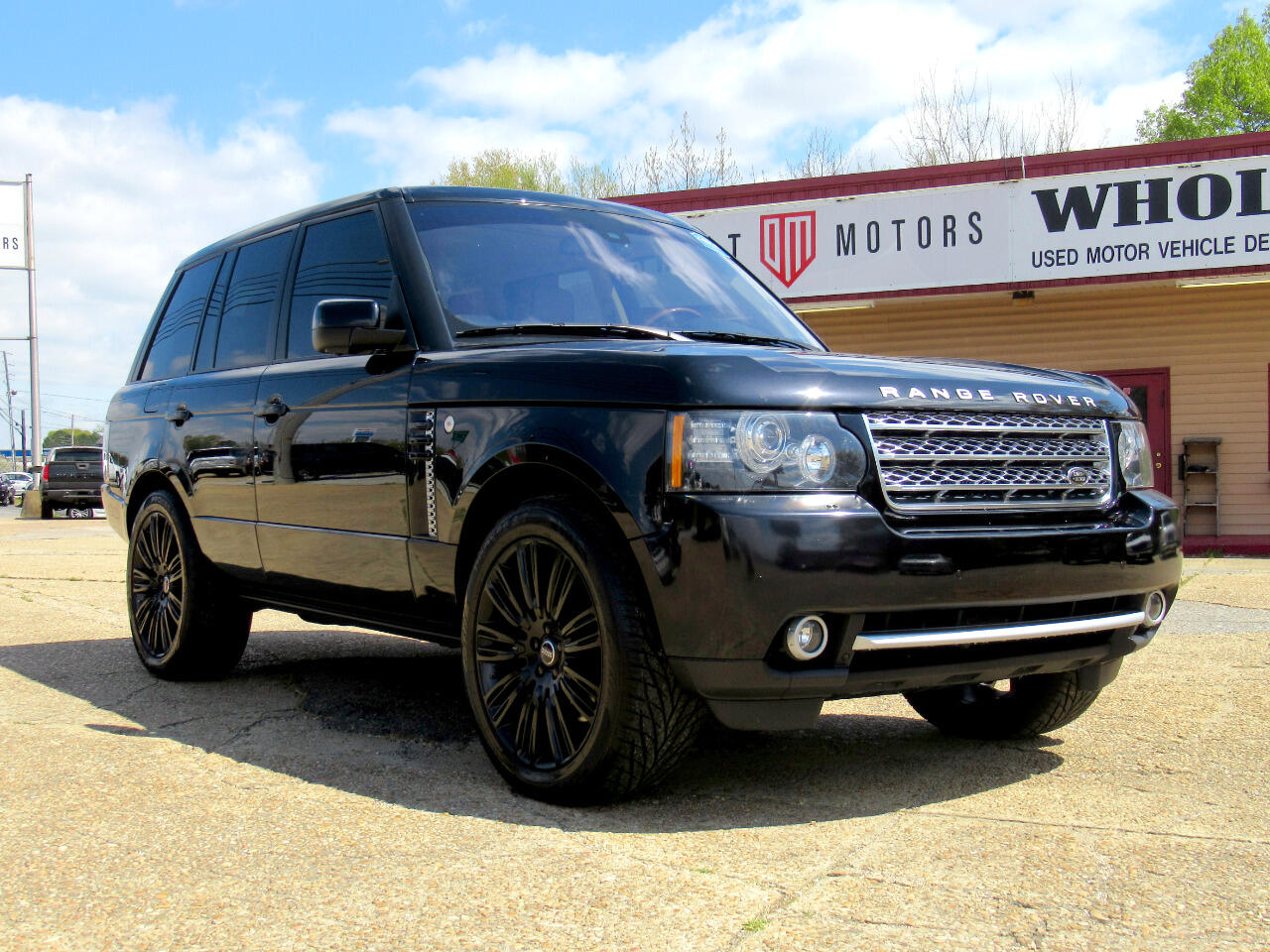 2012 Land Rover Range Rover 4WD 4dr Supercharged